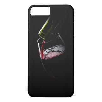 Negro de la foto el | del vino rojo funda iPhone 7 plus