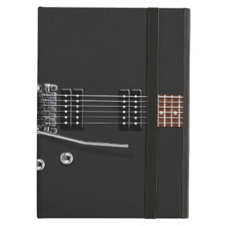 Negro de la guitarra eléctrica