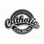 Negro de la iglesia católica de la Inmaculada Conc Postal