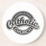 Negro de la iglesia católica de St Augustine Posavasos Personalizados