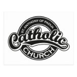 Negro de la iglesia católica de St Augustine Postal