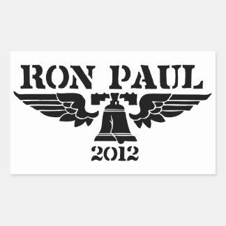 Negro de la libertad de Ron Paul Rectangular Altavoz