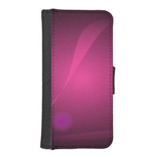Negro de la meditación billetera para iPhone 5