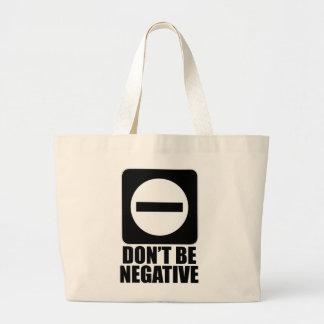 Negro de la negativa 2 bolsa