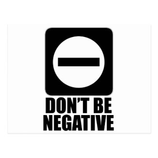 Negro de la negativa 2 postales