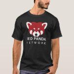 Negro de la red de la panda roja playera