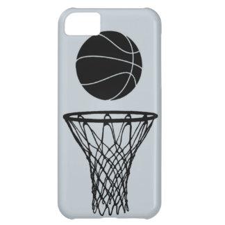 negro de la silueta del baloncesto del iPhone 5 en