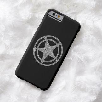 Negro de la sombra de Baphomet Funda Para iPhone 6 Barely There