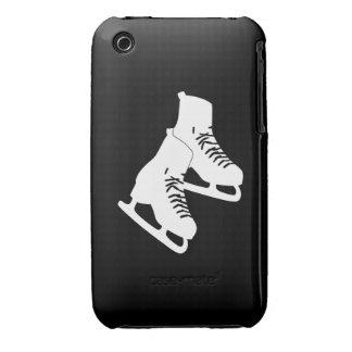 negro de los patines de hielo del iPhone 3 iPhone 3 Cobreturas