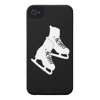 negro de los patines de hielo del iPhone 4 Case-Mate iPhone 4 Coberturas