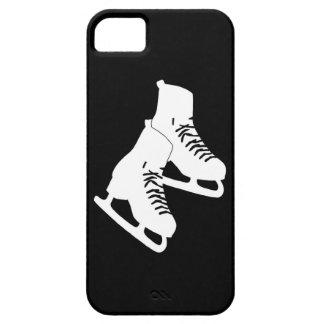 negro de los patines de hielo del iPhone 5 iPhone 5 Case-Mate Carcasas