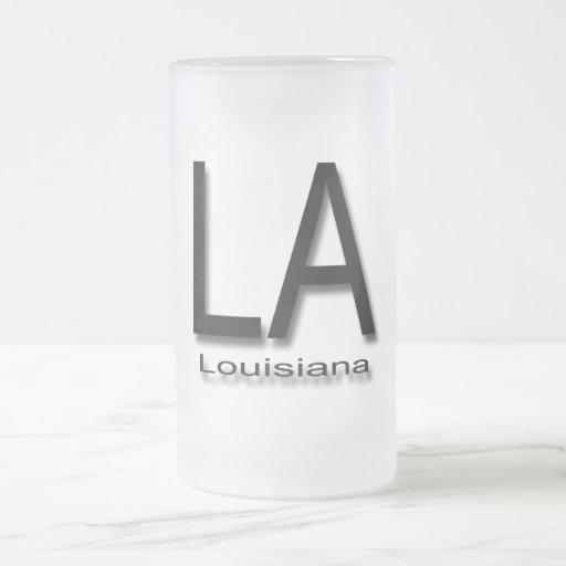 Negro de Luisiana del LA Tazas De Café