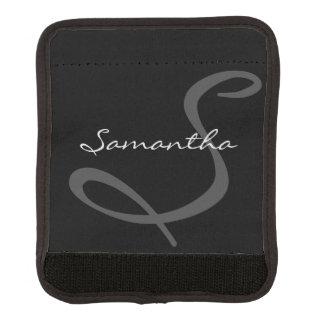 negro de moda elegante moderno simple elegante del funda para asa de maleta