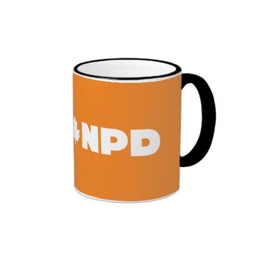 Negro de NDP taza del campanero de 11 onzas