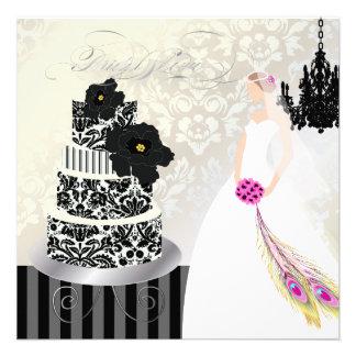 Negro de PixDezines+Pastel de bodas blanco Comunicados