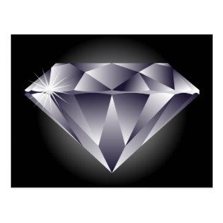 negro de plata del diamante 1307552490_Vector_Clip Postal