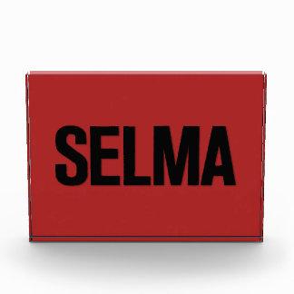 Negro de Selma del día de MLK en rojo
