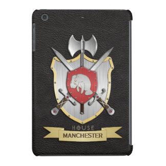 Negro de Sigil del escudo de la batalla del Funda De iPad Mini