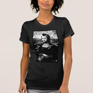 Negro de Wm del Mohawk de Mona Camiseta