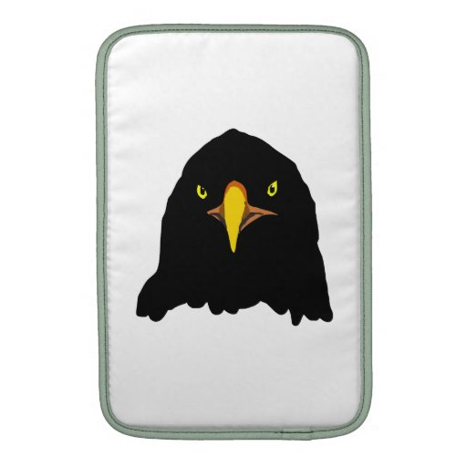 negro del águila funda para macbook air