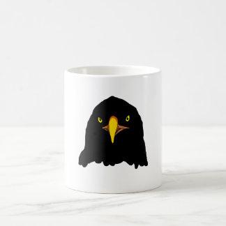 negro del águila taza de café