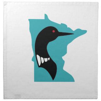 Negro del bribón de Minnesota en trullo Servilleta De Papel
