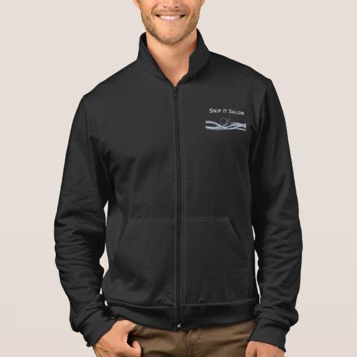 Negro del brillo de la plata del uniforme de la chaquetas
