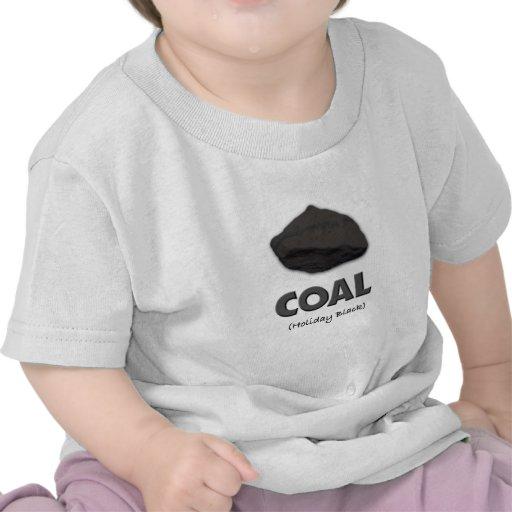 Negro del Carbón-Día de fiesta Camiseta