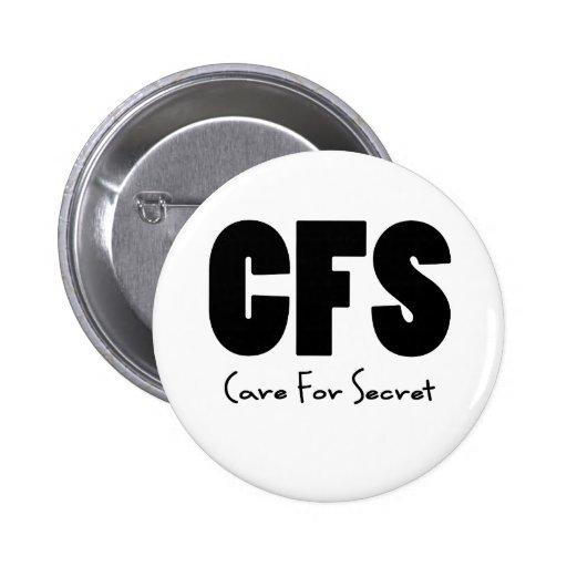Negro del CFS Pin