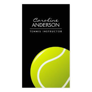 Negro del coche de tenis/del instructor/del tarjetas de visita