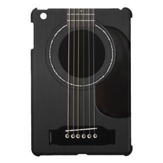 Negro del cojín de la guitarra iPad mini protectores