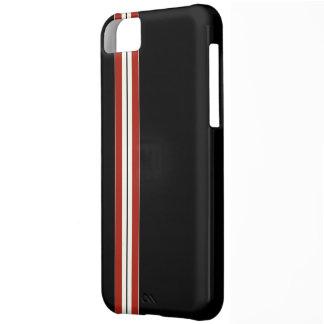 Negro del corredor - caso del compañero funda para iPhone 5C