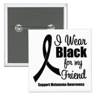 Negro del desgaste del melanoma I para mi amigo Pin