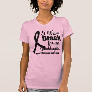 Negro del desgaste del melanoma I para mi nieta Playera