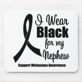 Negro del desgaste del melanoma I para mi sobrino Tapetes De Ratones