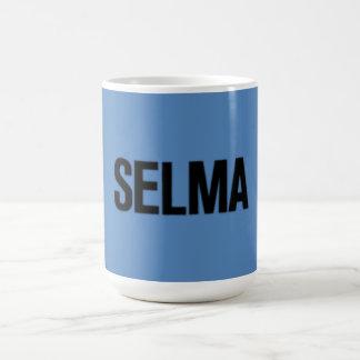 Negro del Día-Selma de MLK en azul