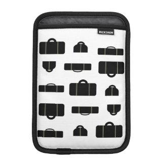 Negro del equipaje funda de iPad mini