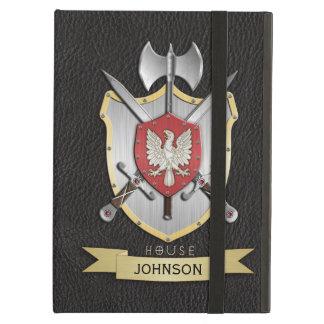 Negro del escudo de la batalla de Eagle Sigil