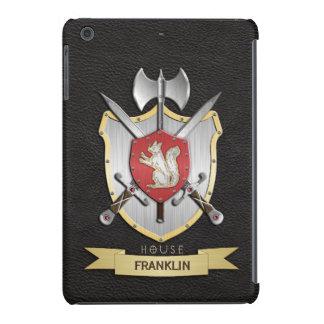 Negro del escudo de la batalla de Sigil de la Funda Para iPad Mini Retina