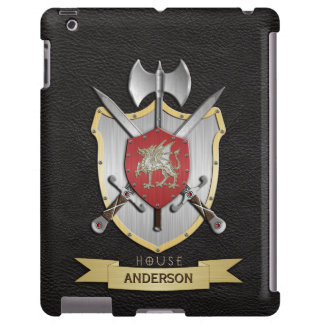 Negro del escudo de la batalla de Sigil del dragón