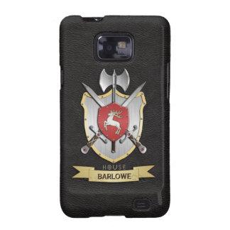 Negro del escudo de la batalla de Sigil del macho Galaxy SII Carcasa