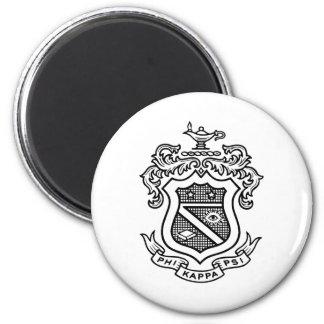 Negro del escudo de PKP Imanes De Nevera