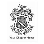 Negro del escudo de PKP Postal