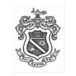 Negro del escudo de PKP Tarjetas Postales