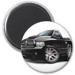 Negro del espolón de Dodge SRT10 Imán Para Frigorífico