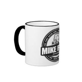 Negro del flujo de Mike taza del campanero de 325