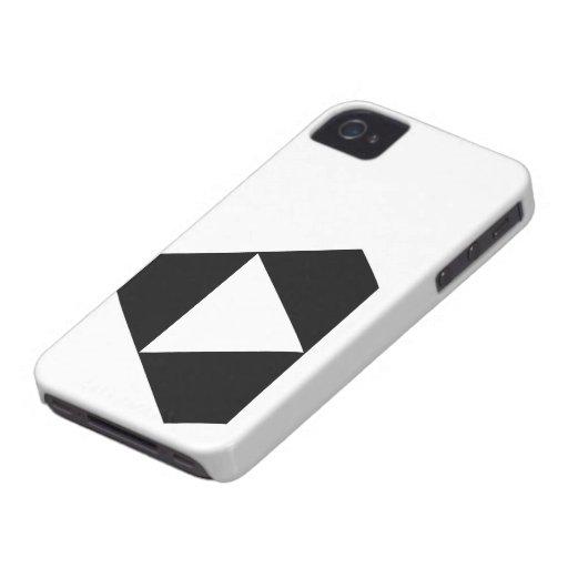 Negro del juego iPhone 4 carcasas