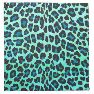 Negro del leopardo e impresión del trullo