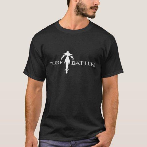 Negro del logotipo de Turfbattles Playera