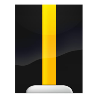 Negro del orgullo de Pittsburgh y diseño del casco Tarjeta Postal